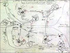VLADIMIR NABOKOV, mapa preparatorio para el curso sobre el Ulises de James Joyce