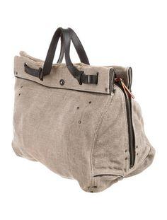 Jerome Dreyfuss Leather-Trimmed Crossbody Bag