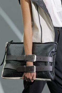 Inspiration for DIY, great belts and attaché case | ARSÉNICO v