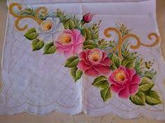 Resultado de imagen para cortinas en flores  pintura