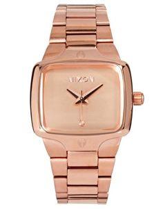 Enlarge Nixon Rose Gold Two Tone Finish Bracelet Watch