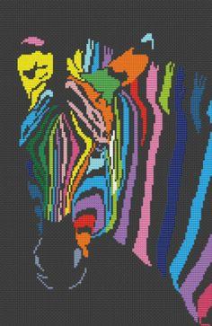 """Схемы для вышивки """"Радужные животные"""". Обсуждение на LiveInternet - Российский Сервис Онлайн-Дневников"""