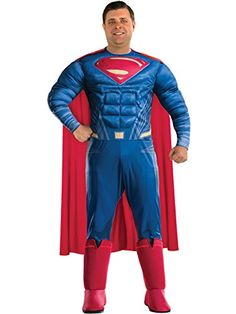 superman+costumes Products : Plus Size Adult Batman V Superman: Dawn of Justice- Deluxe Superman Plus Costume
