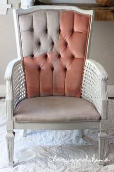 how to paint velvet upholstery the easy way, chalk paint, how to, painted furniture, reupholster