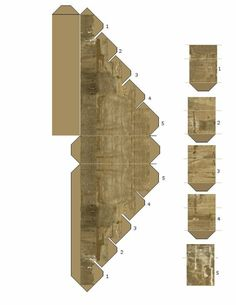 Andys Armies: paper terrain buildings, billboards and bits Warhammer Terrain, 40k Terrain, Paper Toys, Paper Crafts, N Scale Layouts, Ho Scale Buildings, Free Paper Models, Paper Houses, Model Building