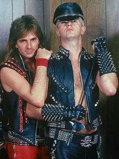 GLENN TIPTON & ROB HALFORD 1988