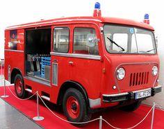 Jeep Forward Control (FC) Fire Engine Truck