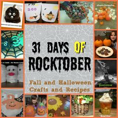Rocktober: 31 Days of Fall, Harvest and Halloween crafts and recipes - Money Saving Parent