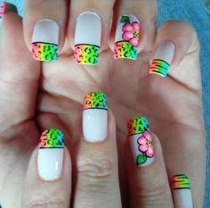 Cute Nail Art, Cute Nails, Margarita, Nail Ideas, Nail Designs, Animals, World, Polish Nails, Toe Nail Art
