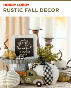 Celebrate cooler weather with nostalgic seasonal pieces and pops of modern accents. Decor Crafts, Diy Crafts, Home Decor, Thanksgiving Decorations, Table Decorations, Rustic Fall Decor, Fall Leaves, Remodels, Afghans