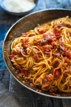 Spaghetti Paprika Ca Baked Spaghetti, Spaghetti Recipes, Easy Salad Recipes, Salmon Recipes, Pasta Recipes, Cooking Recipes, Brocoli Salad Recipe, Broccoli Salad, Recipes