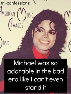 I think he was beautiful is EVERY era, but I must admit the BAD era. soooo freeeeakin adorable it hurts! Michael Jackson Dance, Michael Jackson Quotes, Peace And Love, Love You, My Love, Invincible Michael Jackson, Paris Jackson, King Of Music, I Cant Even