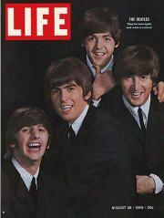 Life Magazine cover - The Beatles - 1964 @ALifetimeLegacy