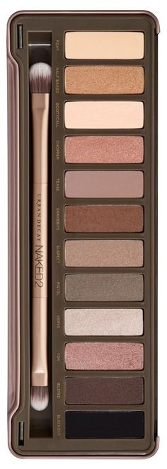 Every beauty junkie needs this gorgeous Urban Decay naked2 palette / @nordstrom #nordstrom