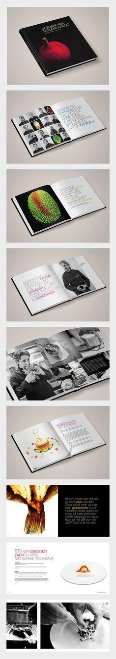 Corporate Design :: Holland Casino :: Kookboek als eindejaarsgeschenk.