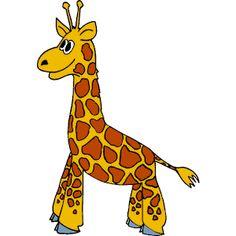 giraffe stock vector illustration and royalty free giraffe clipart rh pinterest co uk free cute giraffe clipart free giraffe clipart black and white