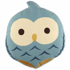 Kids Throw Pillows on bed | Kids Throw Pillow: Owl Shaped Throw Pillow - Honey Bunny Throw Pillow #pillowsforkids #pillows  ...