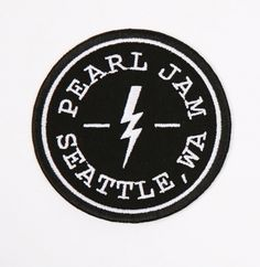Pearl Jam Black and White | 2014 PEARL JAM SEATTLE, WA PATCH