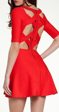 Cute dress for Valentine's day