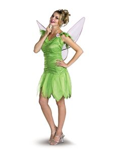 Disney Classic Tinker Bell Adult Women's Costume