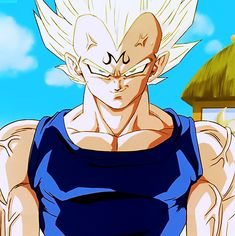 I'll never NOT get chills at this part. Majin Vegeta is just...perfect.