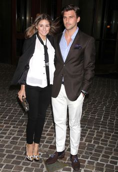 "Olivia Palermo and Johannes Huebl at a special screening of ""Midnight in Paris"" in NYCㅣ May, 2011"