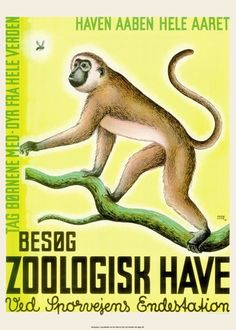 5 Odense Zoo plakater til halv pris The Zoo, Odense, Colorful Pictures, Vintage Posters, Disney Characters, Fictional Characters, Retro, Artist, Danish