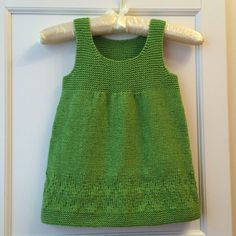 Ravelry: Netka's Green Apple dress