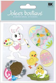 Jolee's disney stickers   EK Success - Jolee's Boutique - 3 Dimensional Stickers - Bunny Artist ...
