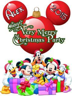 Personalized Disney Christmas Family Shirts T-shirt Mickey Minnie Very Cute!