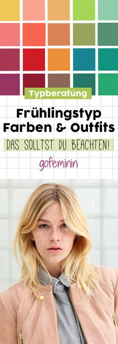 Frühlingstyp: Farben & Outfits
