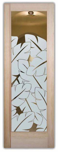 46 New Ideas Frosted Glass Door Art Deco Door Glass Inserts, Glass Cabinet Doors, Glass Front Door, Sliding Glass Door, Glass Doors, Front Doors, Front Entry, Etched Glass Door, Frosted Glass Door