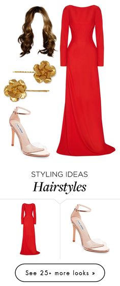"""""""Untitled #15094"""" by iamdreamchaser on Polyvore featuring Antonio Berardi, Jennifer Behr and Steve Madden"""