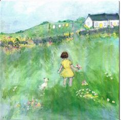 Painting by Sue Fenlon - Meg