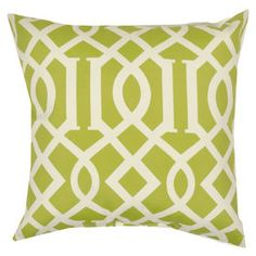 Picture of Kirkwood Kiwi Square Pillow At Home $10 & $15