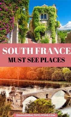 you planning a trip to the South of France? Check out all the beautiful places to visit in the South of France.Are you planning a trip to the South of France? Check out all the beautiful places to visit in the South of France. Top Travel Destinations, Europe Travel Guide, Best Places To Travel, France Travel, France Europe, Vacation Places, Vacations, Beautiful Places To Visit, Cool Places To Visit