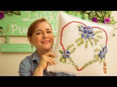 Bordado en cinta para principiantes 5/7 - Basic embroidery stitches ribbons - YouTube