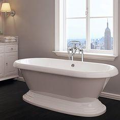 Luxury 60 inch Freestanding Tub with Vintage Tub Design i... http://www.amazon.com/dp/B01C7ODFEY/ref=cm_sw_r_pi_dp_5.nqxb0PK1MZF