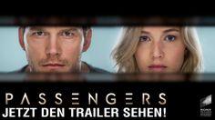 """Hier ist für euch der exklusive Trailer zur Sci-Fi-Romanze """"Passengers"""": Chris Pratt und Jennifer Lawrence werden auf einer Reise durchs All zu früh aus dem Kälteschlaf gerissen und sind sich fortan die einzige Gesellschaft auf ihrem Raumschiff. Ab Jänner 2017 in unseren Kinos! ;-)"""