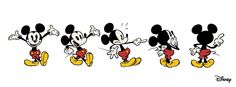 Mickey Mouse - Timeline