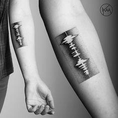 Slikovni rezultat za soundwave tattoo