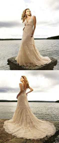 Glamorous V-neck Sheath/Column Empire Satin Wedding Dresses ,Wedding Dresses ,Wedding Dresses ,Wedding Dresses ,Wedding Dresses