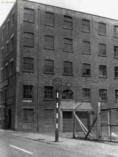 Shilling Place, Ancoats, Manchester c.1950s