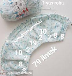 Best 12 No photo description available. – Page 575264552402082021 – SkillOfKing. Baby Sweater Knitting Pattern, Crochet Baby Jacket, Easy Knitting Patterns, Crochet Baby Booties, Knitting Designs, Baby Knitting, Baby Clothes Patterns, Dress Patterns, Knitted Baby Clothes