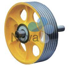 Deflector Sheave,elevator sheave,elevator wheel,sheave,elevator tractor -NOVA ELEVATOR PARTS CO., LTD.