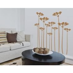 WallSpirit - Wall Decals, Decor and Tattoos - flower stalks - floral