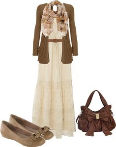 """lace maxi dress"" by trinity-holiness-girl on Polyvore dress is so pretty...really like the purse, too."