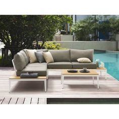 Modern Rustic Interiors Will Rizzi 4 Piece Sectional Seating Group