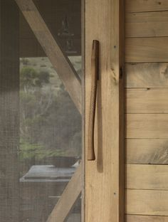 Door handle, Shearers Quarters, John Wardle Architects. www.johnwardle.com