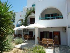 ground floor Apartements and 1st Floor Studios of Villa Naxia, Naxos, Greece